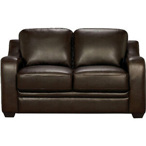 brand new loveseat faux leather