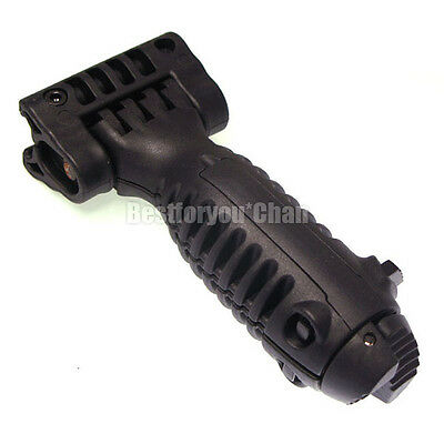 Tactical Airsoft Foldable Foregrip Bipod Stand Holder Rail Adjustable T-Pod (Best Bipods)