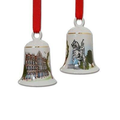 Hutschenreuther - City-glocke ''Hannover'' (7,5 cm) Weihnachtsglocke mit OVP
