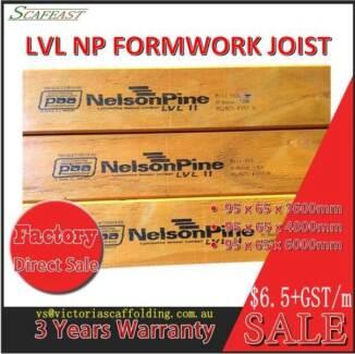 NelsonPine LVL11 Hardwood Formwork Joist/Beam
