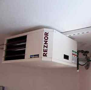 Gas garage heater kijiji free classifieds in calgary for How much to install a garage heater