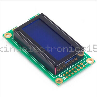 0802 Blue Lcd 8x2 Character Lcd Display Module 5v Lcm For Arduino Raspberry Pi