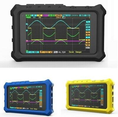 Black Portable Oscilloscope Protective Silicone Case For Ds213 Ds203 Lcd Digital