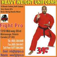 HEAVY WEIGHT RED UNIFORM SAVE UPTO 70% OFF ON MARTIAL ART SUPP