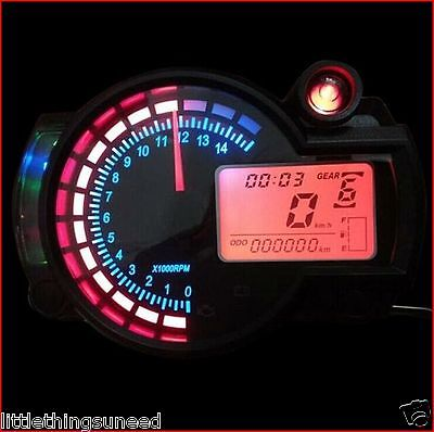 motorcycle,digital,KPH,&,MPH,odometer,adjustable,back,light,suzuki,yamaha,