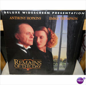 Remains Of The Day 2 Disc Laserdisc-excellent condition