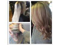 Hairdresser/stylist/hair extensions