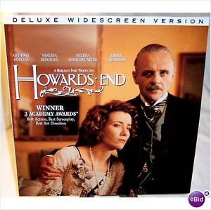 Howard's End Laserdisc-Deluxe Widescreen 2 disc set