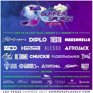 SUMMER SPLASH LAS VEGAS 2017