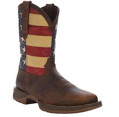 Durango Rebel Mens American Flag Pull On Western Boot Db5554
