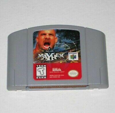 WCW Mayhem (Nintendo 64) N64