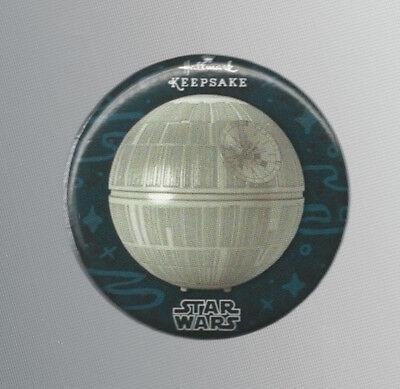 2016 SDCC Exclusive Hallmark Keepsake Star Wars Death Star Promo Button / Pin