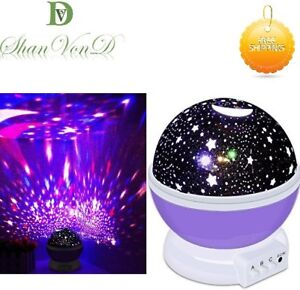 Calming Autism LED Light Sensory Toys Projector Multicolour Sky Star Lamp USB UK