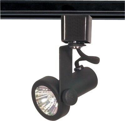 1 Light Mr16 120v Track - Nuvo - 1 Light - MR16 - 120V Track Head - Gimbal Ring Black - TH322