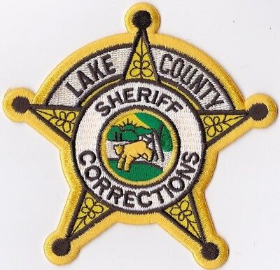Lake County Sheriff Corrections IN Indiana Police Patch NEW