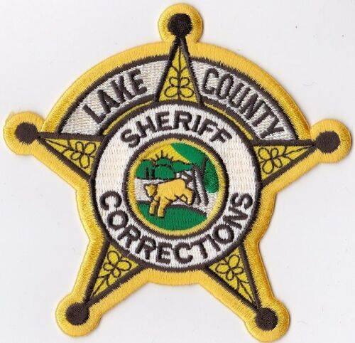 Lake County Sheriff Corrections IN Indiana Police Patch
