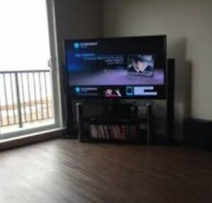 """60"""" Tv and Tv stand"""