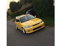 Honda Civic ek Jordan not ( eg ep fn ef type r )