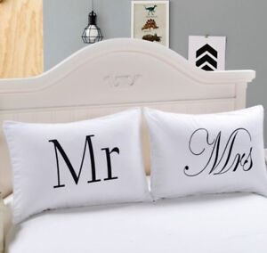 Mr and Mrs Pillowcases-NEW