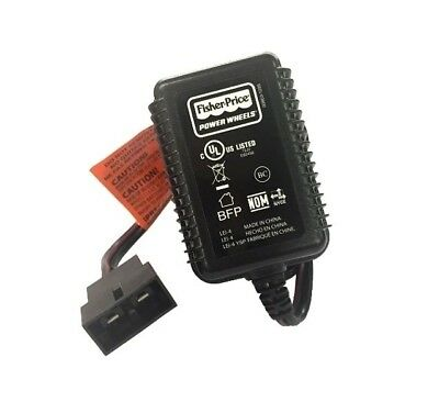 Power Wheels 00801-1900 Charger for 6V Blue Battery Fisher Price Genuine