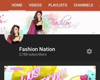 FASHION CHECkOUT MY YOUTUBE CHANNEL