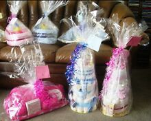 Nappy cakes,trikes,cradles and sleeping babies made to order Golden Grove Tea Tree Gully Area Preview