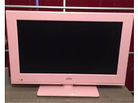 "Cello C20230F Pink 20"" LED TV With built in DVD Player"