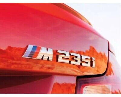 BMW GENUINE F20 F21 Série 1 M135i Shadow Chrome Trunk Boot Badge Msport 8060253