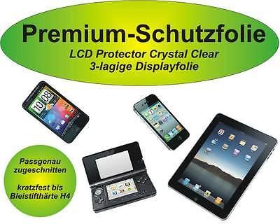 2x Premium-Schutzfolie kratzfest Apple iPod Touch 4G Premium Ipod Touch