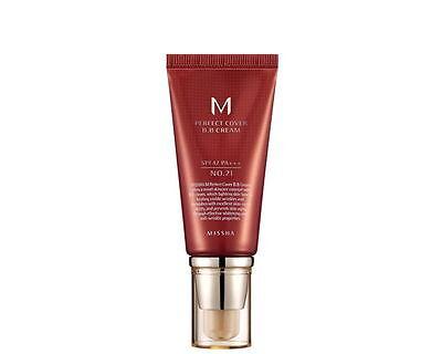 2 x MISSHA / M Perfect Cover BB Cream  SPF42/PA+++ 50ml #21 Korea Cosmetics
