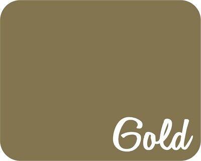12 X 5 Yards - Stahls Fashion-lite Heat Transfer Vinyl Htv - Gold