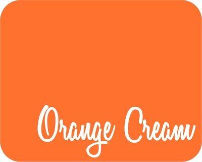 12 X 5 Yards 15 Feet - Stahls Clearance Fashion-lite Htv - Orange Cream