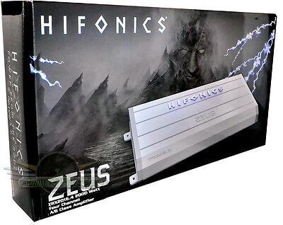 hifonics ZRX2016.4 2X1000W 4X500W Car Amp