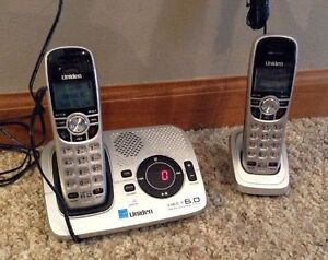 CORDLESS PHONE & ANSWERING SYSTEM DIGITAL DECT 6.0 UNIDEN Strathcona County Edmonton Area image 1