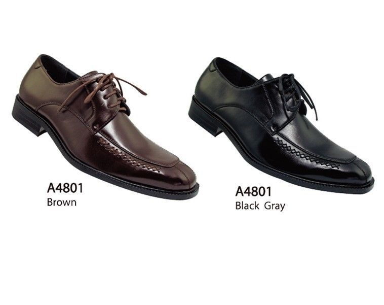 Men's Casual Basic Everyday Work Faux Leather Dress Shoes style-A4801