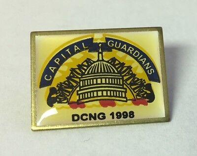 1998 Dcng Washington Dc National Guard Capital Guardians Pin
