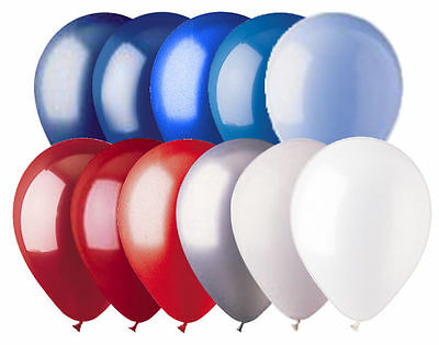 Red White Balloons (24 - 12