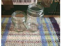 42 Jam Jars - Wedding / Centrepieces / Tea-light / Glassware / Candle Holders