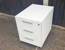 Filing Cabinet Metal Office Storage with 3 Drawers