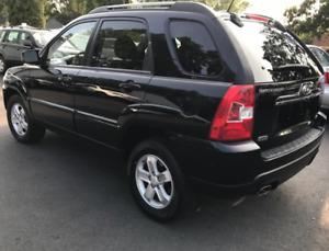 2009 Kia Sportage LX SUV, Black,  MVI to April 2020, $4399.00