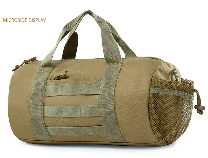 Tactical Handbag Military Travel Shoulder Bag Gym Molle Duff