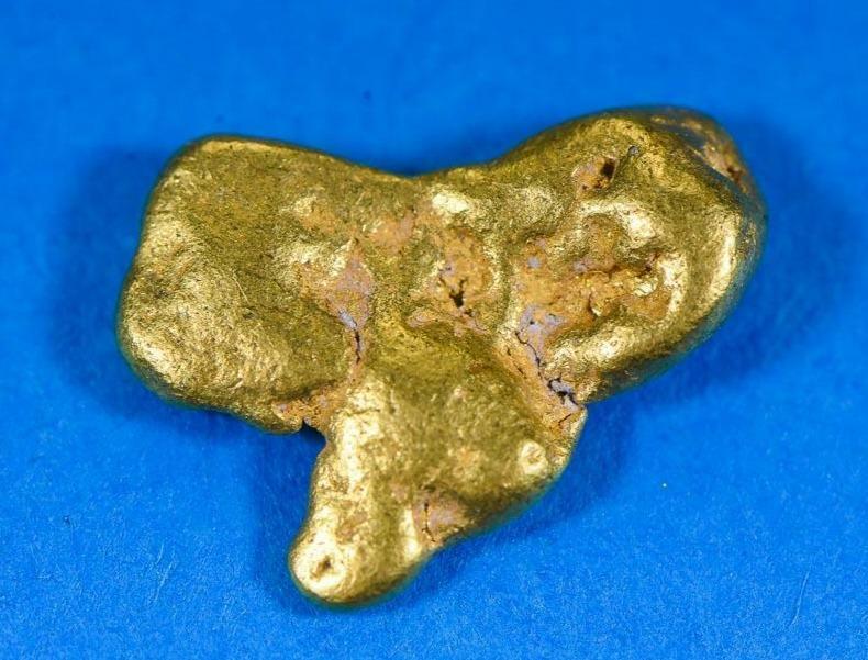 #227 Alaskan BC Natural Gold Nugget 2.42 Grams Genuine