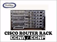 CCNA CCNP Certification Training Router Rack
