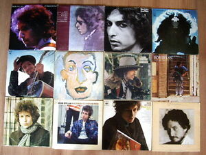 Nice Selection of Bob Dylan Vinyl LP Records