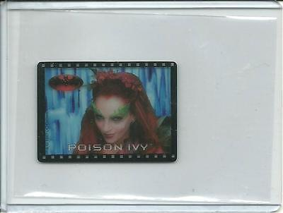 1997 Batman & Robin Movie Action Cell Card Poison Ivy Transparency