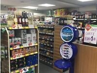 CONVENIENCE STORE FOR SALE WITH THREE BEDROOM FLAT