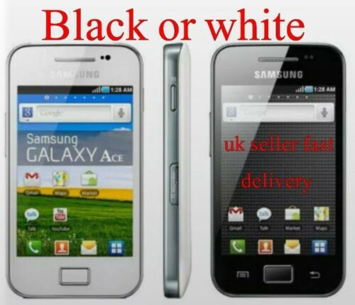 Android Phone - 3G Samsung Galaxy Ace GT-S5830i SIM Free Android Basic Cheap Smart Phone UK