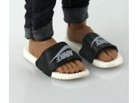 """1//6 Scale Nike Style Sandals Slides Slippers For 12/"""" Hot Toys Phicen Figure USA"""