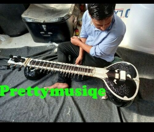 SITAR DOUBLE TUMBA CLASSICAL SPECIAL+ FIBER CASE BOX + ACCESSORY + FREE SHIPPING
