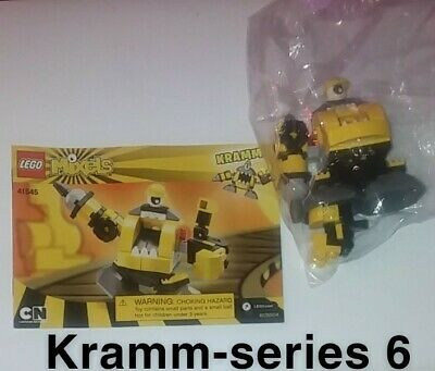 Mixels lego, mixel series 6, Kramm. put together once/never played with